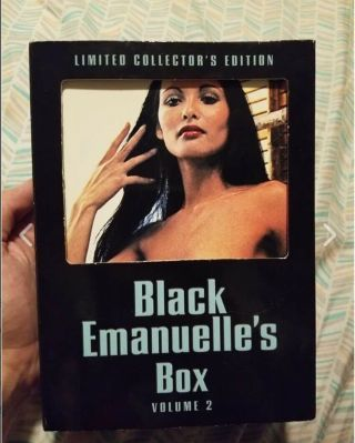 Severin Black Emanuelle Box 1 And 2 Complete Oop Rare