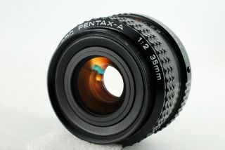 Pentax Smc A 35mm F2 Rare Lens Very Good N4724