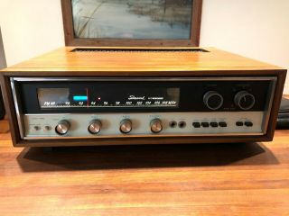 Very Rare Sherwood S - 8800a 200 Watt Fm Stereo Receiver,  Last Old Style Usa Build