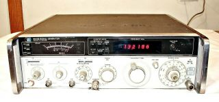 Hp Hewlett Packard 8640b Signal Generator W/opt 003 Made In The Usa Rare
