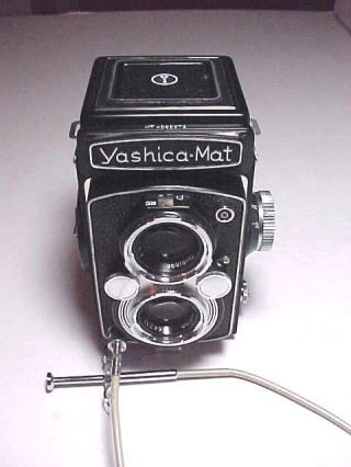 Yashica - Mat 1957 Copal - Mxv Tlr Twin Lens Reflex Japanese Camera,  Rare