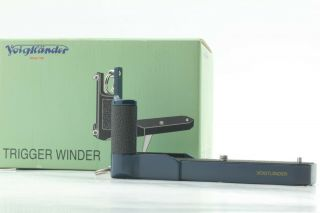 [rare Color Mint] Voigtlander Trigger Winder Navy For Bessa T R2 R3 From Japan