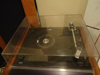 Rare Bic 1000 Stereo Turntable With Stanton 681eee Cartridge