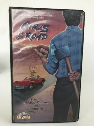 Hot Summer Week Aka Girls On The Road Vhs - Rare Cult Oop