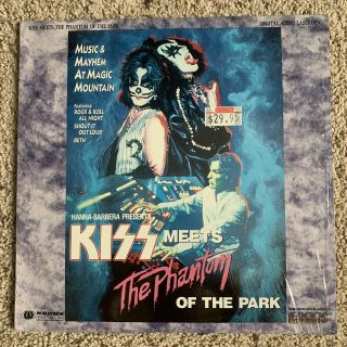 Kiss Meets The Phantom Of The Park Laserdisc - Ultra Rare Music - Play