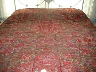 Euc Rare Ralph Lauren Red Galahad Full/queen Comforter