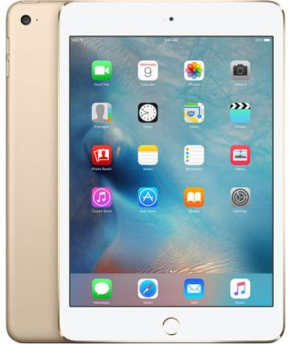 Apple Ipad Mini 4 128gb Wi - Fi 7.  9in - Gold,  Rarely.