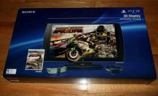 Rare - Sony Playstation 3d Display W/ 2 3d Glasses