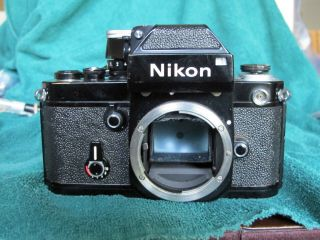 Rare 1971 Nikon F2 Photomic Dp - 1 Black S/n 7110xxx Dp - 1 200xxx