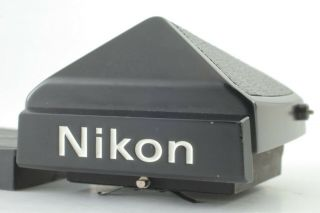 {rare Near Mint} Nikon De - 1 Eyelevel Prism Finder Black For Nikon F2 Japan 181o