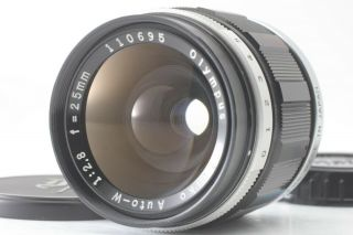 [rare Exc,  5] Olympus G Zuiko Auto W 25mm F/2.  8 Mf Lens For Pen F Ft From Japan