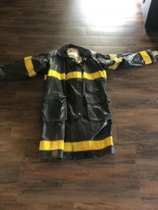 Firefighter Fireman Turnout Bunker Gear: Jacket Coat Rare