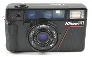 Rare Iso 1000 Nikon L35 Af 35mm Compact Film Camera - Japan