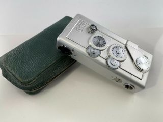 Gami 16 Galileo Subminiature 16mm Camera Rare Subminiature Spy Camera