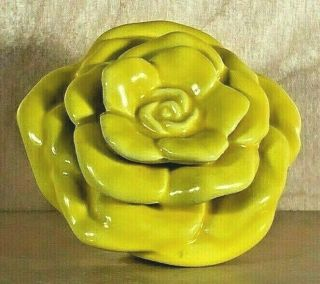 Nora Fleming Yellow Rose Retired,  Rare,  Htf A80