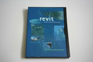 Revit 1.  0 Parametric Building Modeler Software Cd Rare And Collectable
