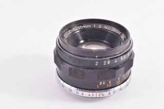 Canon 35mm/f2 Leica 39mm Lmt Screw Mount Rare 28698