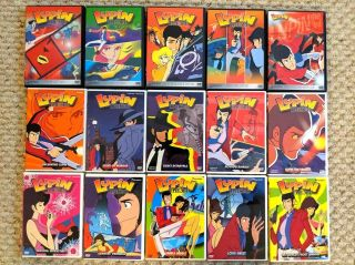 (dvd) Lupin The 3rd - Iii / 15 Dvd Set 2nd Series Rare Oop Geneon