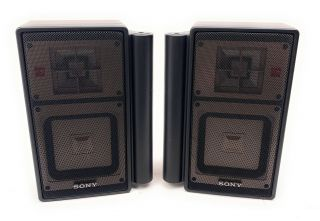 Sony Apm - X5a,  30w (pvm Monitors Series) 1986 - Pro Audiophile Speakers Rare