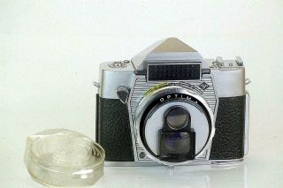 Agfa Optima Reflex A Rare 35mm Tlr And Only Penta - Prism Model Ever Made