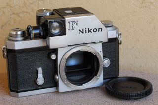 Rare Nikon F 66xx Red Dot W/photomic Flag Finder Slr Film Camera Body Meter Worx