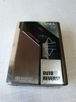 ⭐ Rare Aiwa Hs - F07 Stereo Cassete Recorder Japan For Restoration Collectable