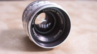 Steinheil Munchen Quinon 25mm F1.  5 Lens For C Mount Rare
