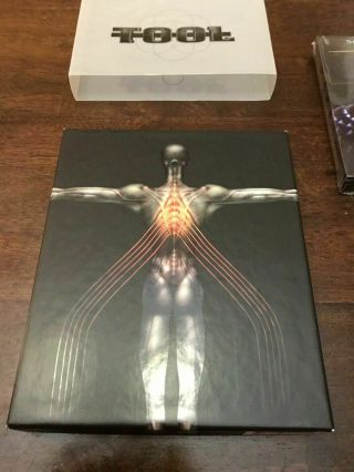 Tool - Salival Box Set - Dvd & Cd (dvd,  2000,  Dvd Plus Cd) Very Rare Oop