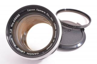 Rare Canon 50mm/f1.  2 Leica 39mm Lmt Screw Mount 43233
