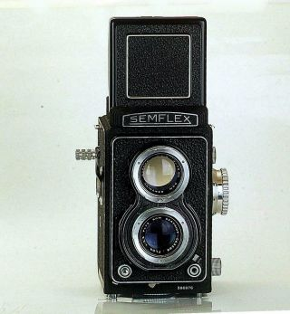 "Rare French Semflex 3.  5b Type 30 "" Oto "" (= Automatic) Tlr"