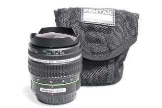 Rare Near Pentax Da Fish - Eye 10 - 17mm F3.  5 - 4.  5ed[if] Boxed A,