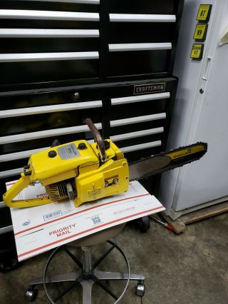 Mcculloch 250 Chainsaw Rare Runs 80cc 1 - 45 Muscle Saw Usa