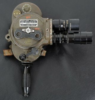 Rare C1952 Ph - 430 - B Signal Corps Bell & Howell Filmo 16mm Movie Camera.