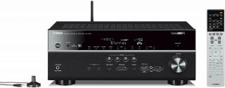 Yamaha Rx - V677 7.  2 - Channel Wi - Fi Network Av Receiver With Airplay Rarely