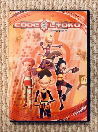 Code Lyoko The Complete Second Season 2 Rare (6 Dvd Set) Oop Anime Official Dvdr