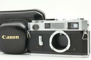 [rare Exc,  5 Case] Canon Model 7s 35mm Rangefinder Film Camera Body From Japan