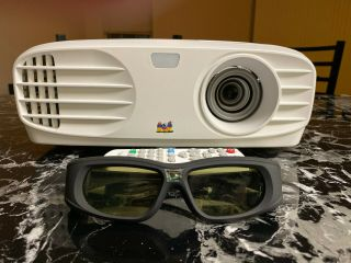 Rarely Px700hd 1080p Projector With Remote And 3d Active Shutter Glasses