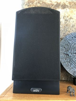 4 A/d/s/ Ads Sat 6 Speakers In Black Rare.  But Vintage.  Great