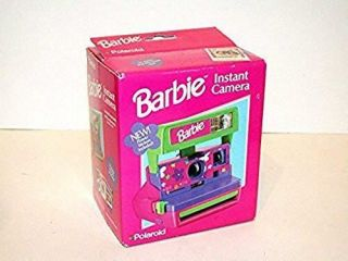 Rare N E W Polaroid Barbie Instant Camera Nib 1 Film Stickers