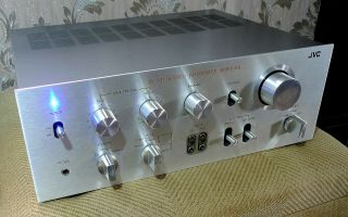 Jvc Ja - S31 Rare Audiophile Stereo Integrated Amplifier - Magnificent Looks,  Mods