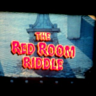 16mm Film The Red Room Riddle Abc Weekend Special Scary Rare 1983