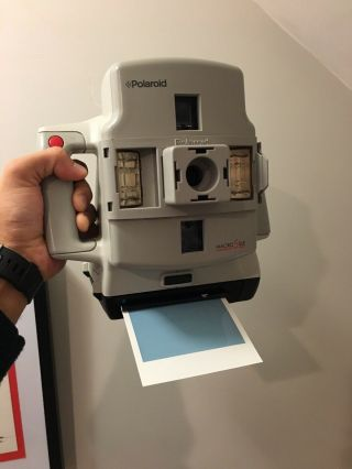 Rare Polaroid Camera Macro 5 Slr With Film