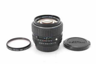 Smc Pentax Lens 50mm F1.  2,  From Japan,  Very Rare,  Tk0905