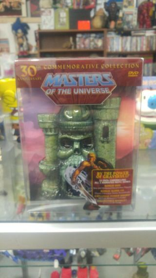 He - Man Masters Of The Universe 30th Anniversary Dvd Set Rare Oop