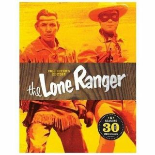 The Lone Ranger: Collectors Edition (dvd,  2013,  30 - Disc Set),  Rare And Oop