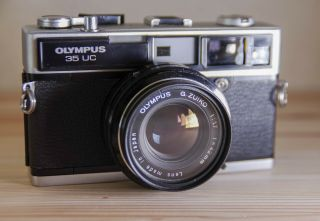 [rare N.  Mint] Olympus 35uc (35sp) Rangefinder Film Camera 42mm F1.  7 From Japan