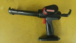 Rare Craftsman 19.  2v Caulk Gun C3 Cordless