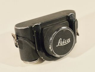 Ultra Rare Tropical Leica Mbroo Aluminum Case For Leica Iiif Camera