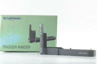 【rare In Box】voigtlander Trigger Winder Olive Bessa T/r From Japan
