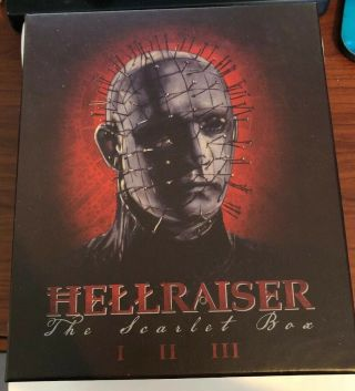 Hellraiser Scarlet Box Set Blu - Ray Like Cond Us Limited Arrow Video Rare